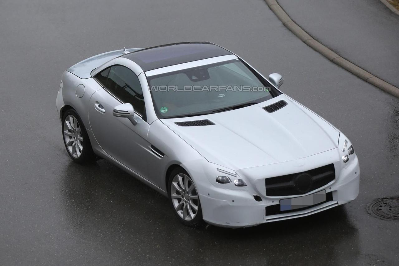 Mercedes-Benz SLC 2016 шпионские фото