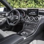 Mercedes C400 2015 interior