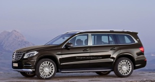Mercedes-Maybach GLS неофициальный рендер