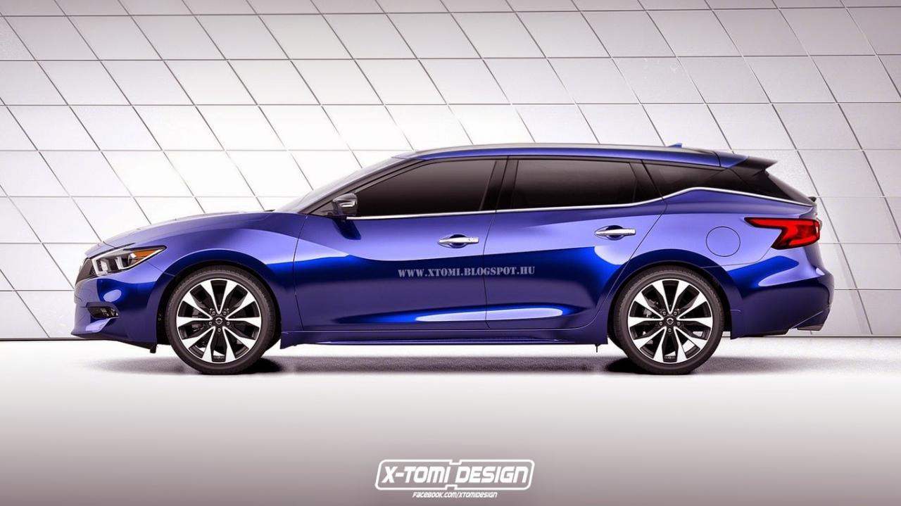 Nissan Maxima 2016 - виртуальный прототип универсала от X-Tomi Design