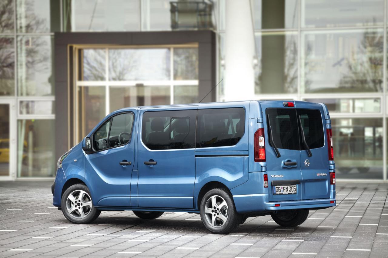 Opel Vivaro Tourer от Irmscher