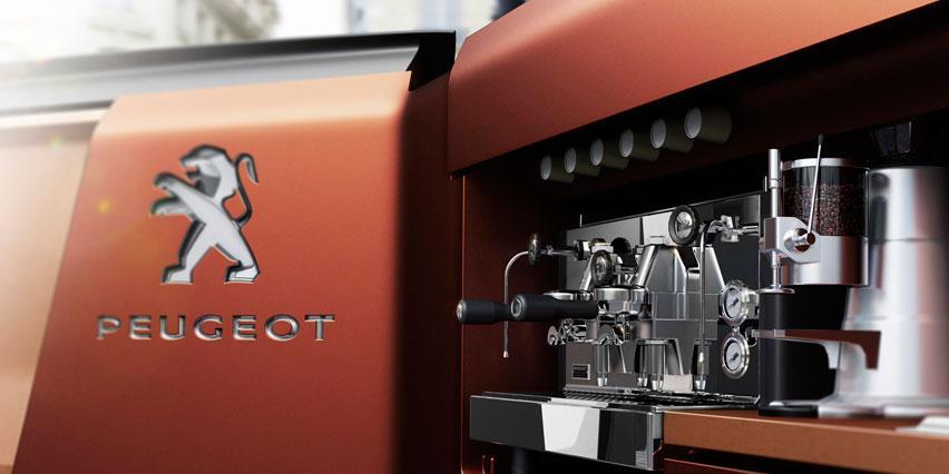 Peugeot Foodtruck Concept 2015 - закусочная на колесах