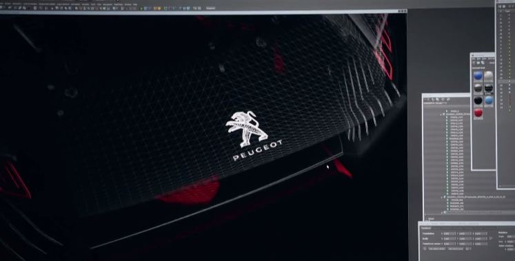 Peugeot Mysterious Concept Video Teaser