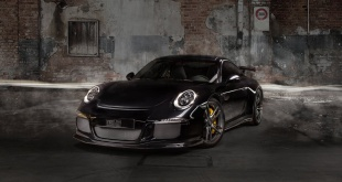 Porsche 911 GT3 на колесах TechArt Formula IV Racing Edition