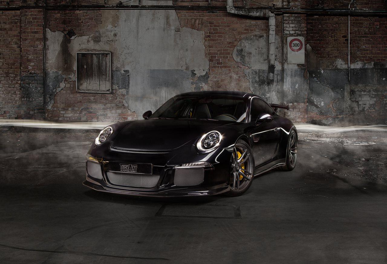 Porsche 911 GT3 на колесах TechArt Formula IV Racing Edition