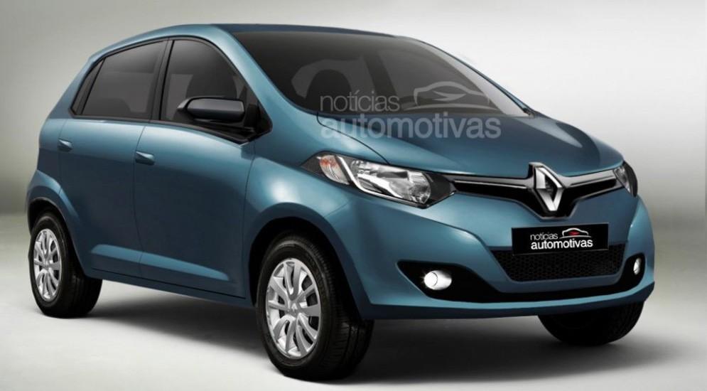 Renault Kayou - рендер, предполагаемая внешность