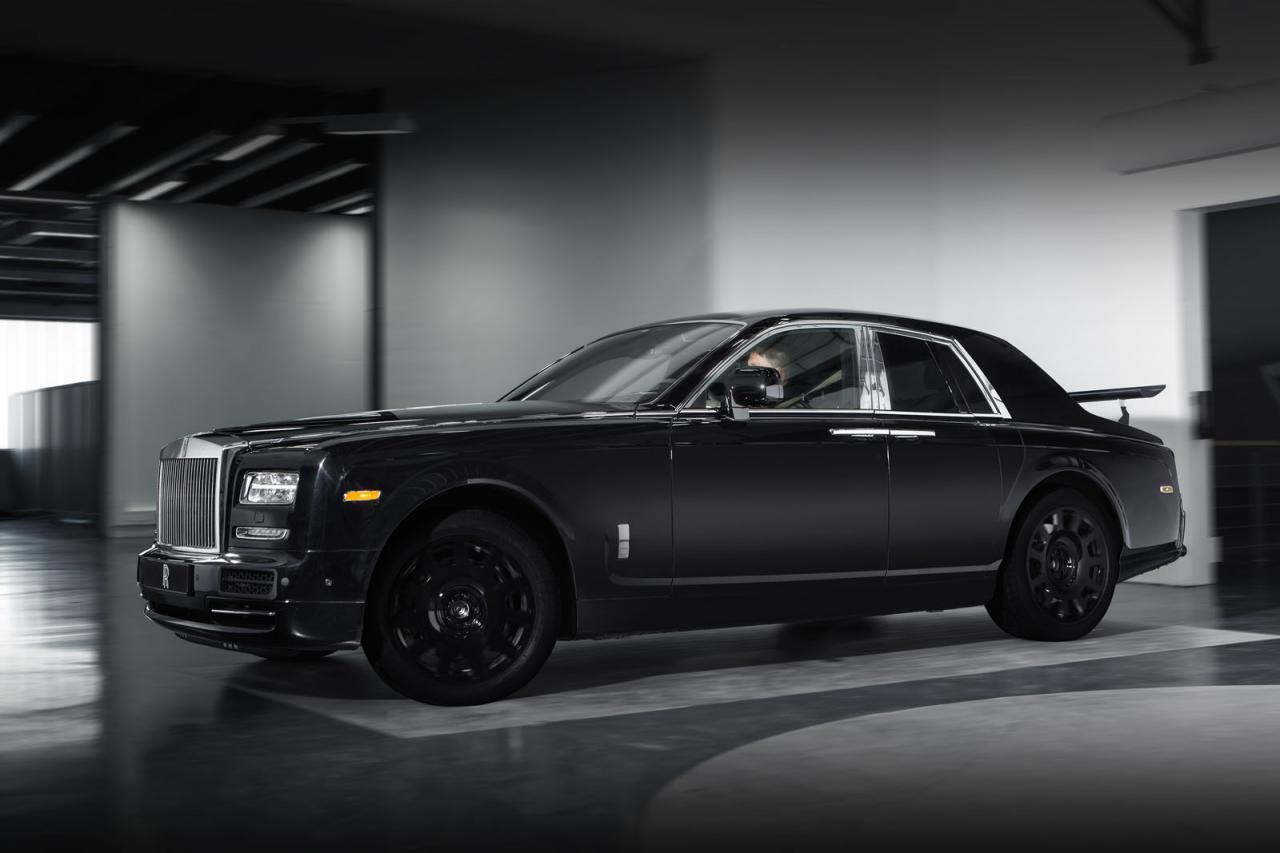 Rolls-Royce тестовый мул кроссовера