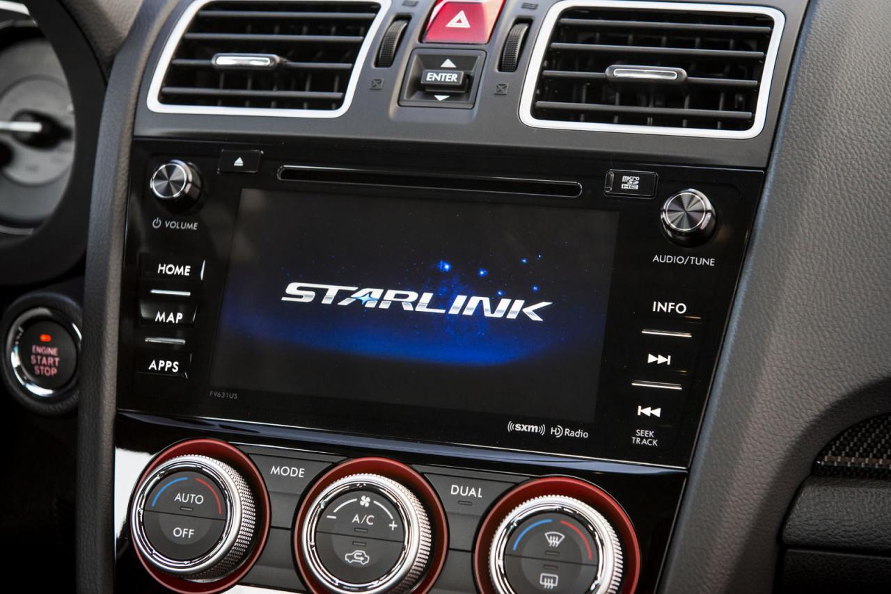 Subaru WRX и WRX STI 2016