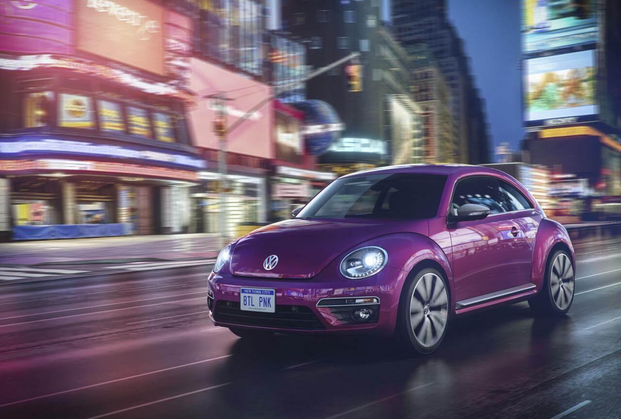 Volkswagen Beetle Pink Color edition концепт