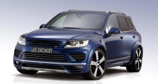 Volkswagen Touareg V8 4.2 TDI тюнинг от JE DESIGN