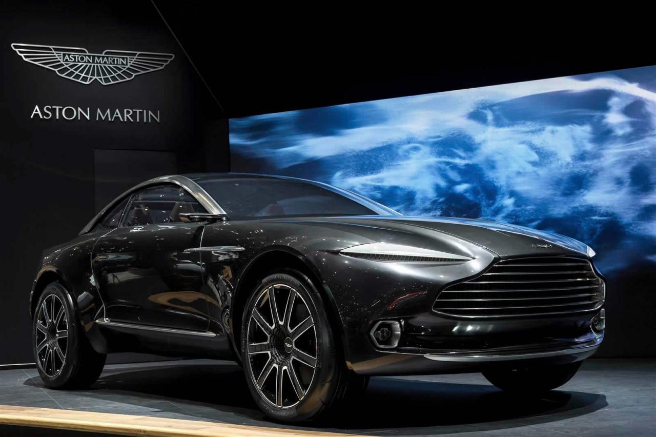 Aston Martin DBX концепт на Женевском автосалоне 2015
