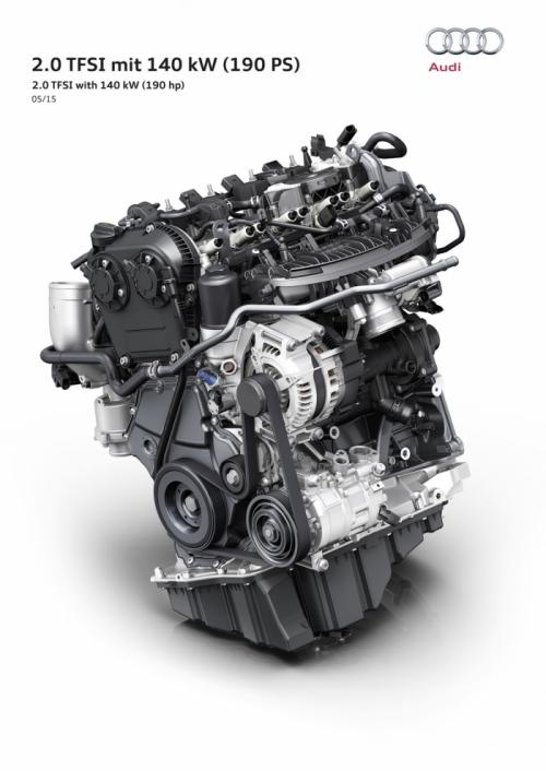 Audi TFSI 2.0 2015 190 л.с.