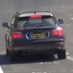Bentley Bentayga шпионские фото и видео
