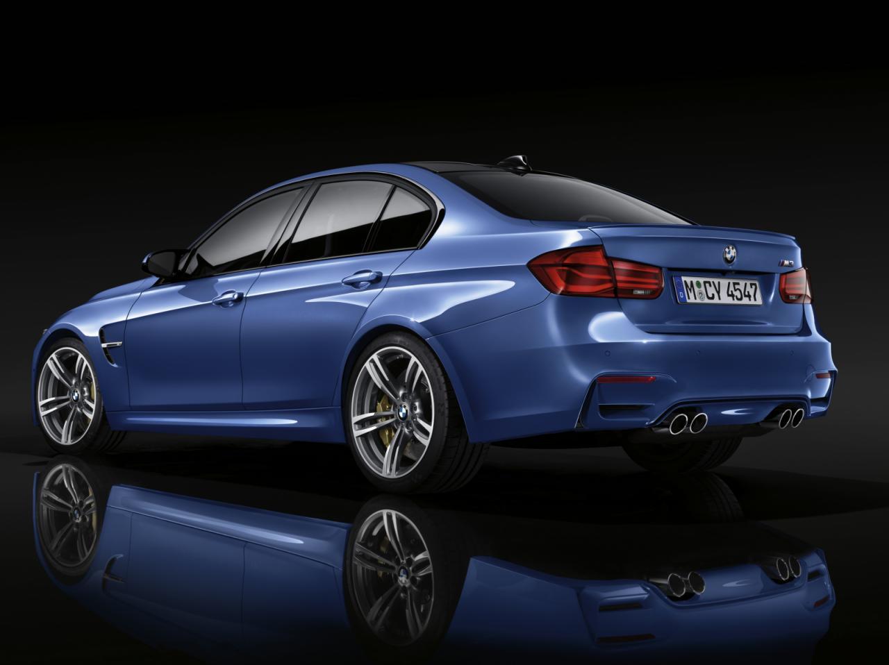 BMW M3 2016 официальные фото