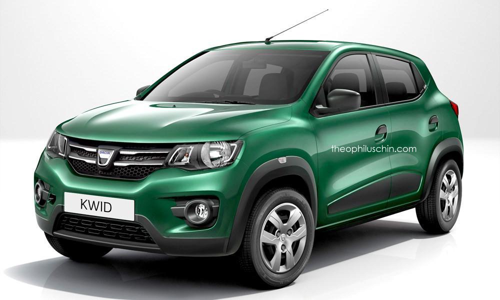 Dacia KWID render Theophilus Chin