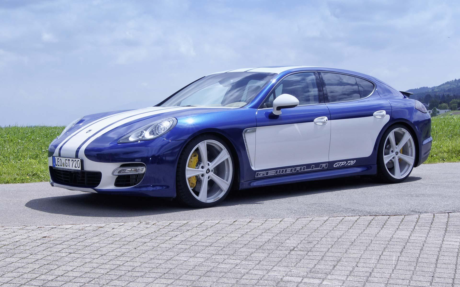 Gemballa GTP 720 тюнинг|tuning Porsche Panamera