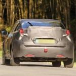 Honda Civic 2016 тестовый мул шпионские фото