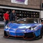 Тюнинг Lamborghini Aventador Liberty Walk мощностью 900 л.с.