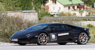 Lamborghini Huracan SV/Superleggera шпионские фото