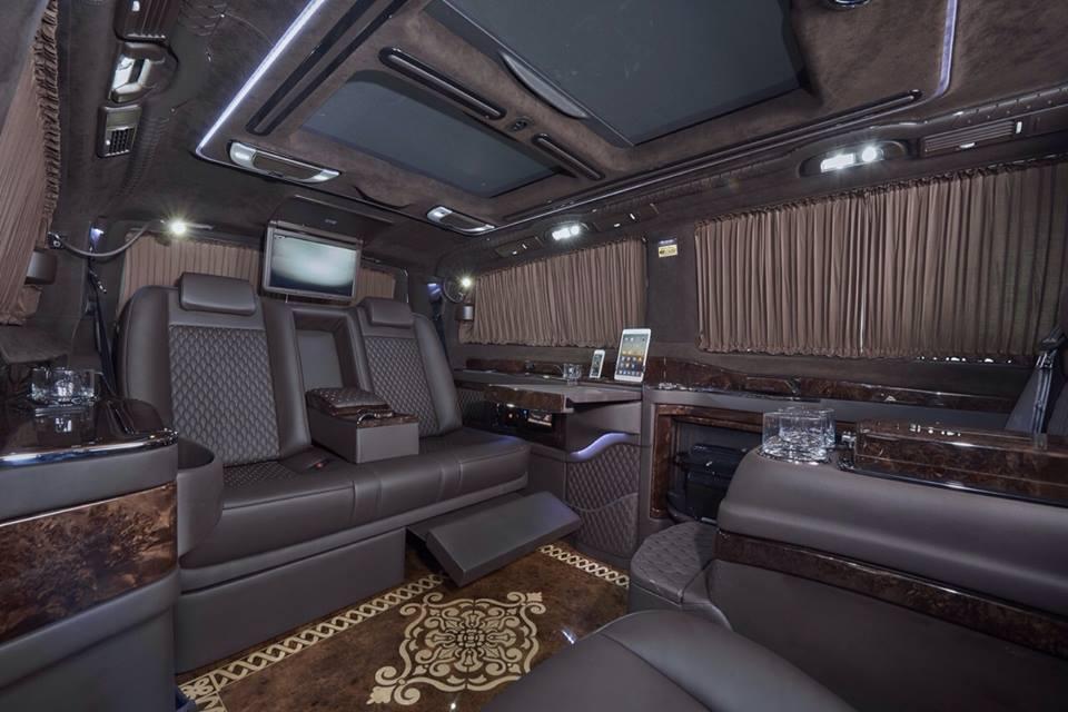 Mercedes-Benz Viano тюнинг интерьера