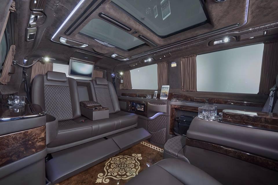 Mercedes benz viano for Interior mercedes viano