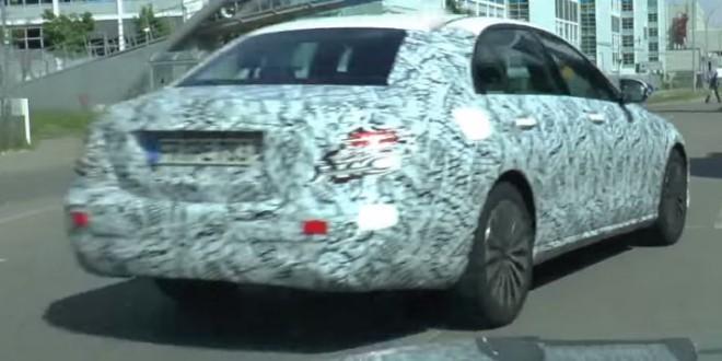 Mercedes-Benz E-Class 2016 spy photo-video / шпионское фото видео