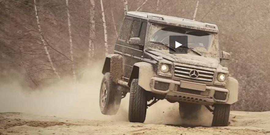 Mercedes-Benz  G500 4x4² vs Hennessey Velociraptor