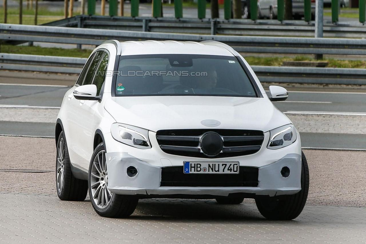 Mercedes GLC spy photo/шпионские фото
