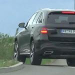 Mercedes GLC шпионское видео