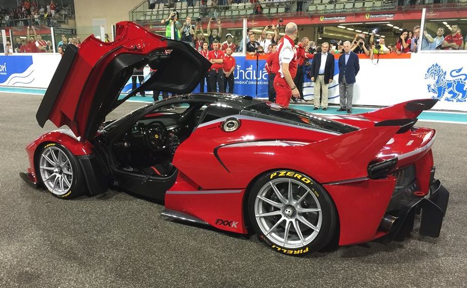 Pirelli P Zero intellectual tires LaFerrari FXX K