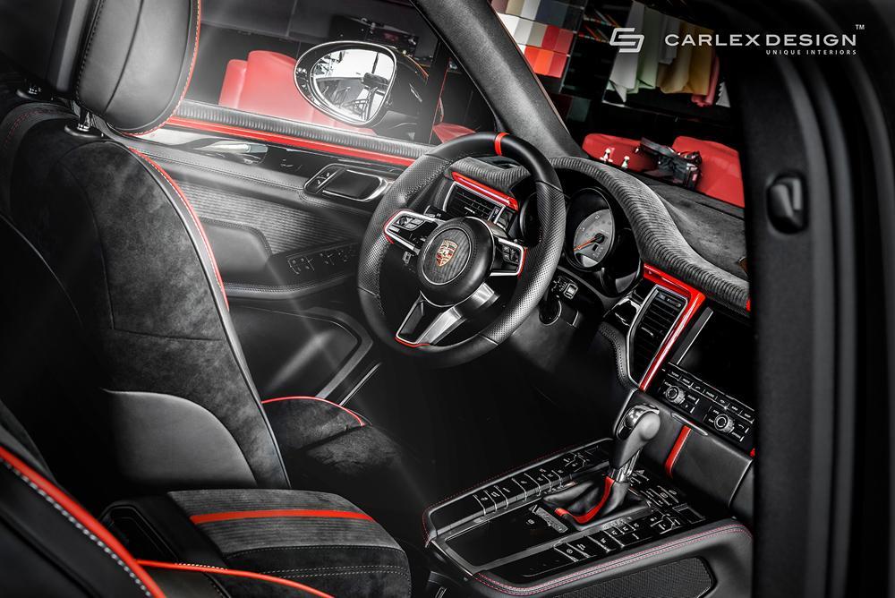 Porsche Macan тюнинг интерьера от Carlex DesignPorsche Macan тюнинг интерьера от Carlex Design