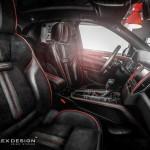 Porsche Macan тюнинг интерьера от Carlex Design