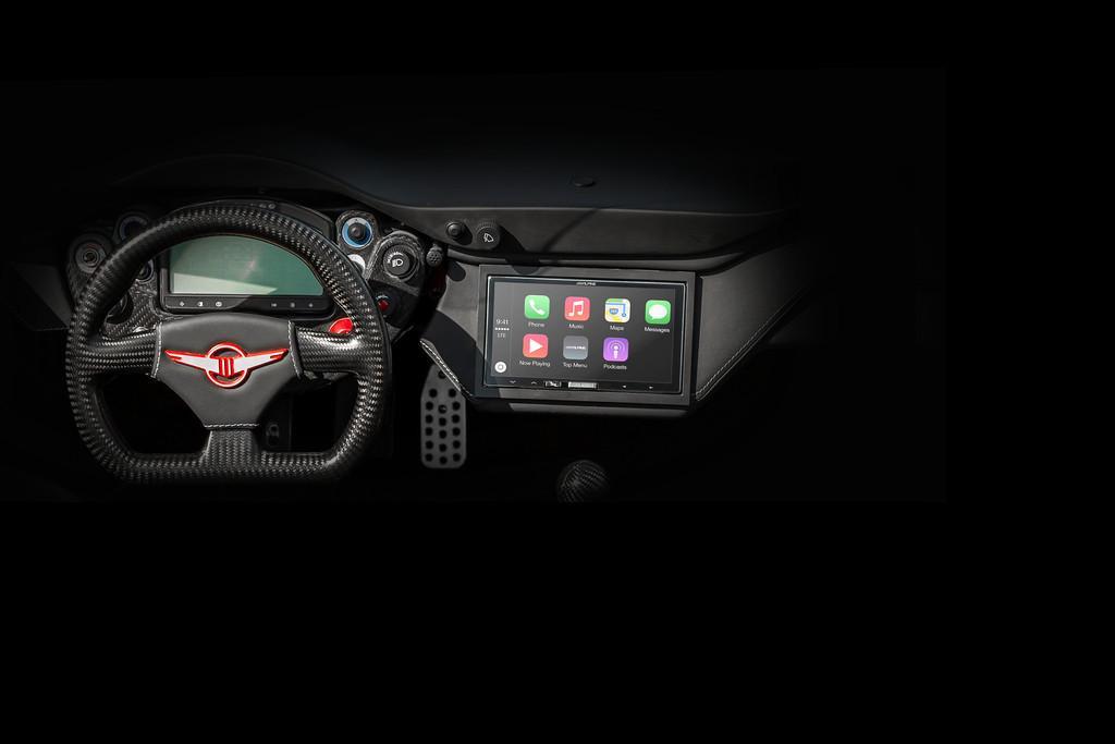 Rezvani Beast interior teaser photo/тизер-фото интерьера