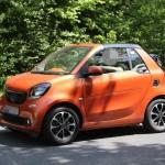 Smart ForTwo Cabrio 2015 шпионские фото