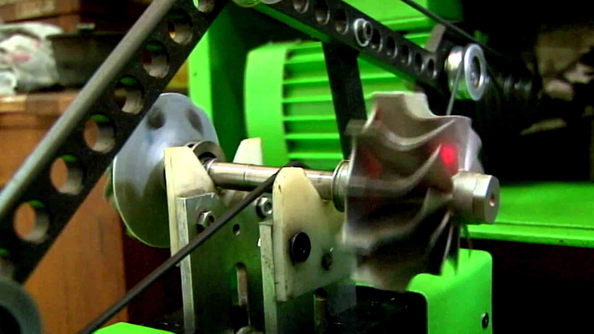 балансировка ротора турбонагнетателя