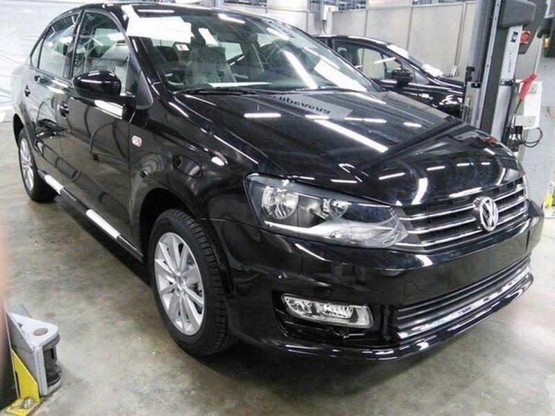 Volkswagen Polo 2015 российская версия