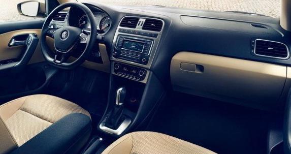 Volkswagen Polo седан обновленный
