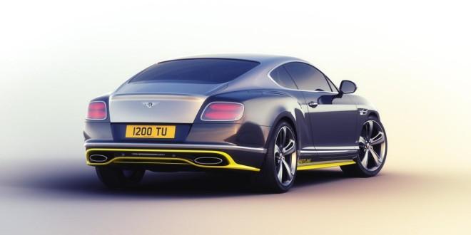 Анонсирована спецверсия Bentley Continental GT Speed ...