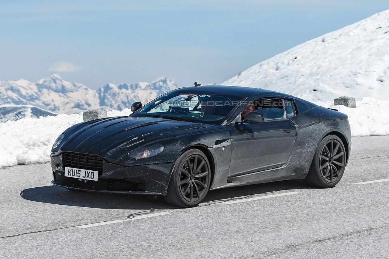 Aston Martin DB11 spy photo / шпионские фото