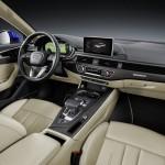 Audi A4 2016 interior official photo / интерьер официальное фото