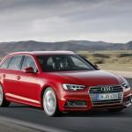 Audi A4 2016 Avant универсал official photo / официальное фото