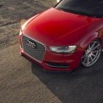 Audi S4 tuning/тюнинг Vorsteiner wheels+splitter | колеса + сплиттер