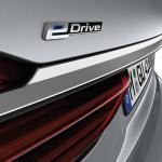 BMW 7-Series 2016 e drive logo