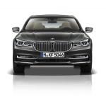BMW 7-Series 2016 dark grey front/ темно серый спереди