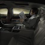 BMW 7-Series 2016 interior back seats / интерьер задние кресла