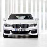 BMW 7-Series 2016 белый/white спереди/front