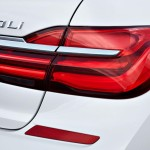BMW 7-Series 2016 белый/white taillights/задние фонари