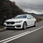 BMW 7-Series 2016 белый/white front/спереди