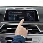 BMW 7-Series 2016 интерьер iDrive/ interior iDrive