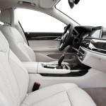 BMW 7-Series 2016 интерьер белый / interior white